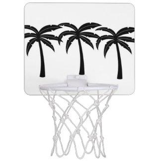 Tropische Palmen Mini Basketbalring
