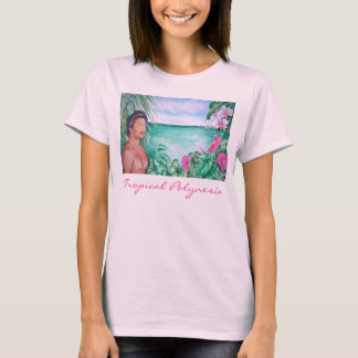 Tropische Polynesia T Shirt
