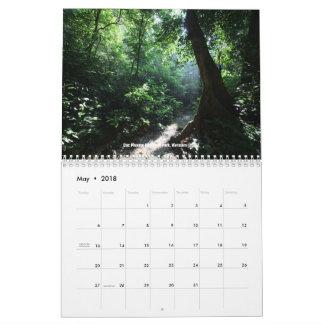 Tropische regenwoudenkalender kalender