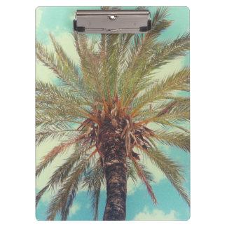 Tropische Vintage Palm Klembord