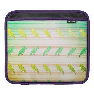 Tropische Vogeltjes Sleeve Voor iPad