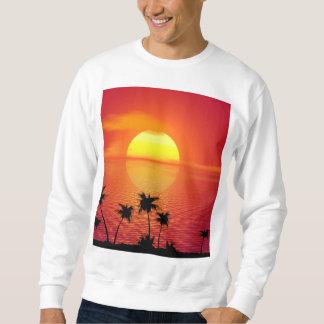 Tropische Zonsondergang Trui