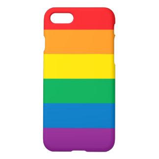 Trots | Kleurrijk Ontwerp van de Regenboog iPhone 8/7 Hoesje