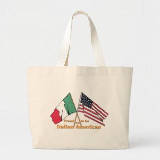 Trots om een Italiaans-Amerikaan te zijn Grote Draagtas