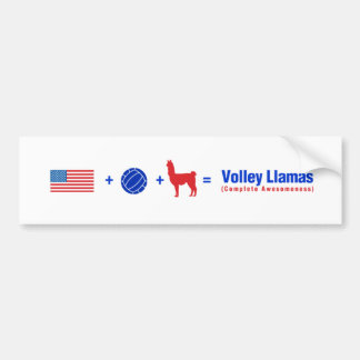 Trots om een Sticker van de Bumper van de Lama van