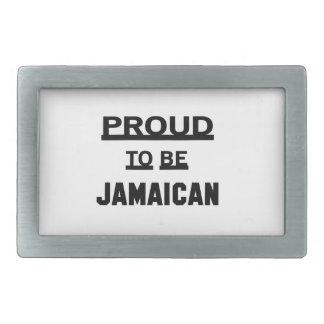 Trots om Jamaicaans te zijn Gesp