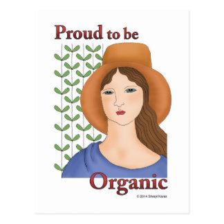 Trots om Organisch te zijn Briefkaart