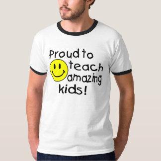 Trots om Verbazend Kind (Smiley) te onderwijzen T Shirt
