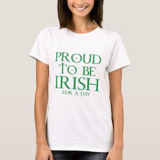 Trots om voor een Dag Iers te zijn T Shirt