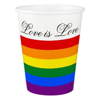 Trots van de Vlag LGBT van de Regenboog van de