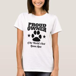 Trotse Eigenaar van Beste Lhasa Apso van de Wereld T Shirt