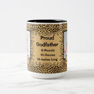 Trotse Peetvader - Foto van het Baby van de Druk Tweekleurige Koffiemok