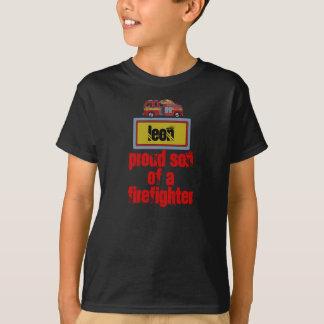 Trotse zoon van afirefighter… overhemd - Leon T Shirt
