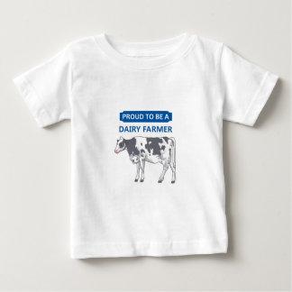 Trotse ZuivelLandbouwer Baby T Shirts