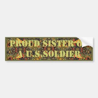 Trotse Zuster van een Sticker van de Bumper