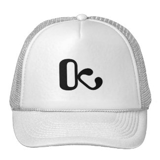 Trucker hat white/black OctopusChicky logo Petten
