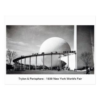 Trylon & Perisphere - Eerlijk P van de Wereld van Briefkaart