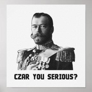Tsaar Nicolaas II - Tsaar Ernstig u? Poster