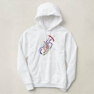 Tuba Geborduurde Sweater Hoodie
