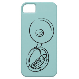Tuba/Sousaphone Barely There iPhone 5 Hoesje