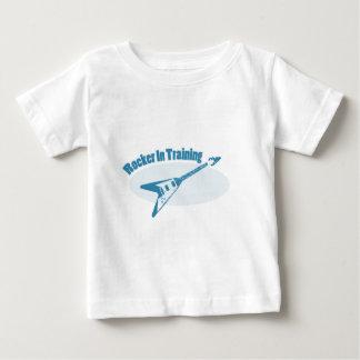 Tuimelschakelaar in Opleiding Baby T Shirts