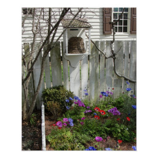 Tuin in de Lente 3 Poster