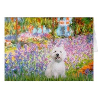 Tuin in Giverney - Westie 2 Briefkaarten 0