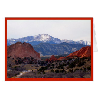 Tuin van de Goden (Colorado) Briefkaarten 0