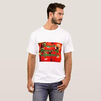Tuinieren is vrij & krijgt u tomaten - Spreuk T Shirt
