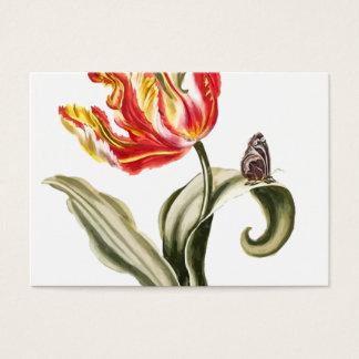 Tulp | van de lente het Bloemen Modelleren van de Visitekaartjes