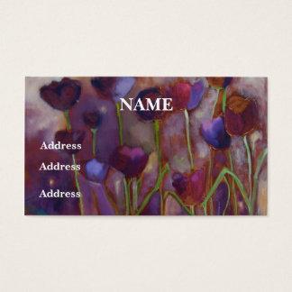 """""""Tulpen en Glimwormen"""" - Visitekaartjes"""