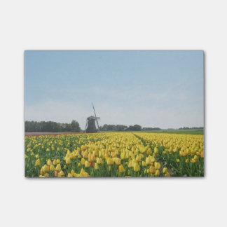 Tulpen en het Landschap van Holland van de Post-it® Notes