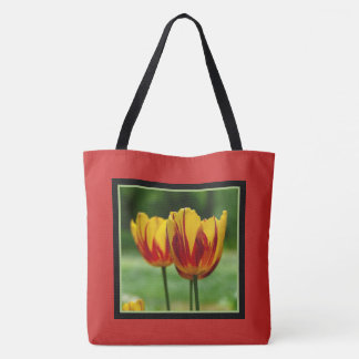 Tulpen gele red_009_q_R5 Draagtas
