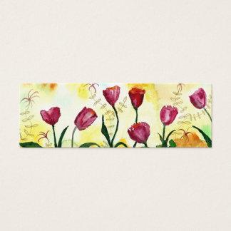 Tulpen Mini Visitekaartjes