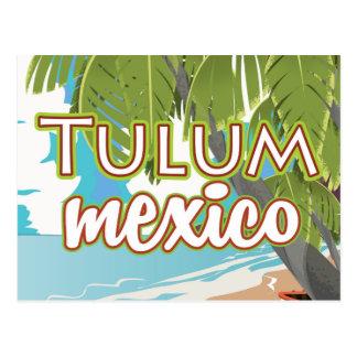 Tulum, de reisposter van Mexico Briefkaart