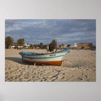 Tunesië, Pet Bon, Hammamet, waterkant, Kasbah Poster