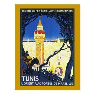 Tunis ~ L'Orient Aux Portes DE Marseille Briefkaart