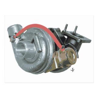Turbocompressor Briefkaart