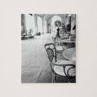 Turijn Italië, Koffie en Overwelfde galerij Puzzel