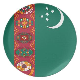 Turkmeense Vlag Melamine+bord