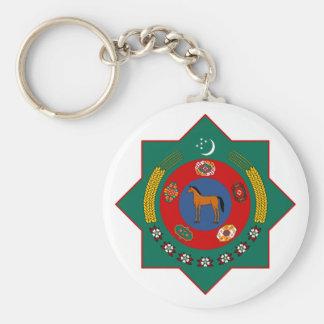 Turkmenistan het Officiële Symbool van de Sleutelhanger