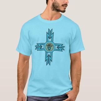 Turkoois draag T-shirt van het Mannen van de Poot