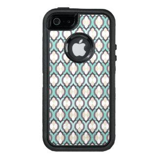 Turkoois Marokkaans Patroon OtterBox iPhone 5/5s/SE Hoesje