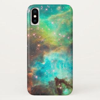 TURKOOISE NEVEL iPhone X HOESJE