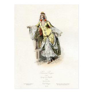 Turkse Prinses - de Mode van de 17de Eeuw Briefkaart