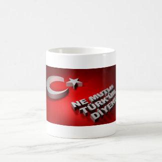 Turkse vlagkop koffiemok
