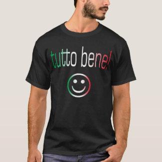 Tutto Bene! De Kleuren van de Vlag van Italië T Shirt