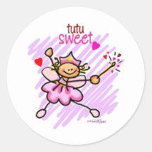 tutu zoete Liefde Sticker