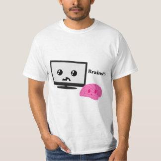 TV eet Uw Overhemd van Hersenen T Shirt