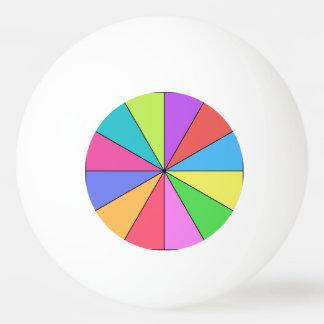 Twaalf Kleuren van Helder Pingpongbal